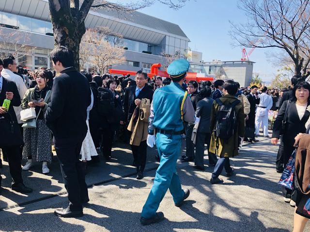 京都大学・大学院卒業式、入学式