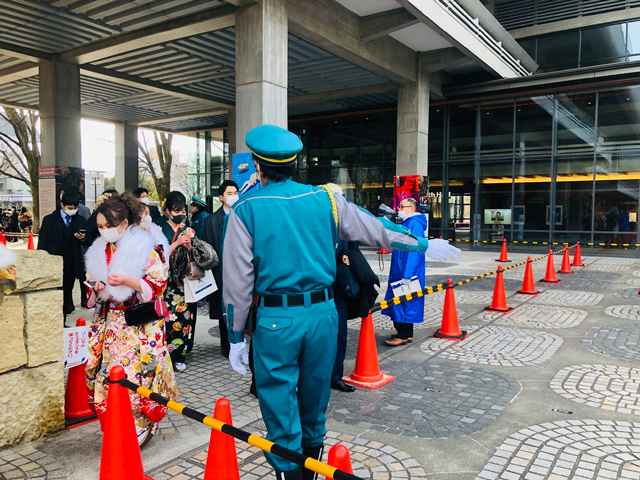 新春記念式典臨時警備