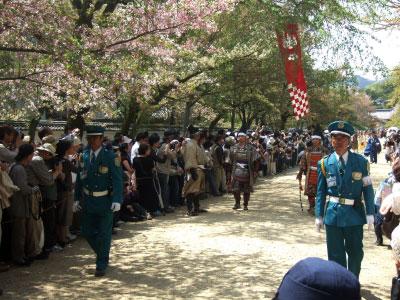 太閤観桜行列