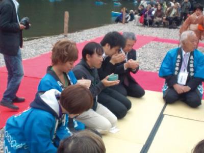 嵐山の紅葉祭 ボランティアとして参加